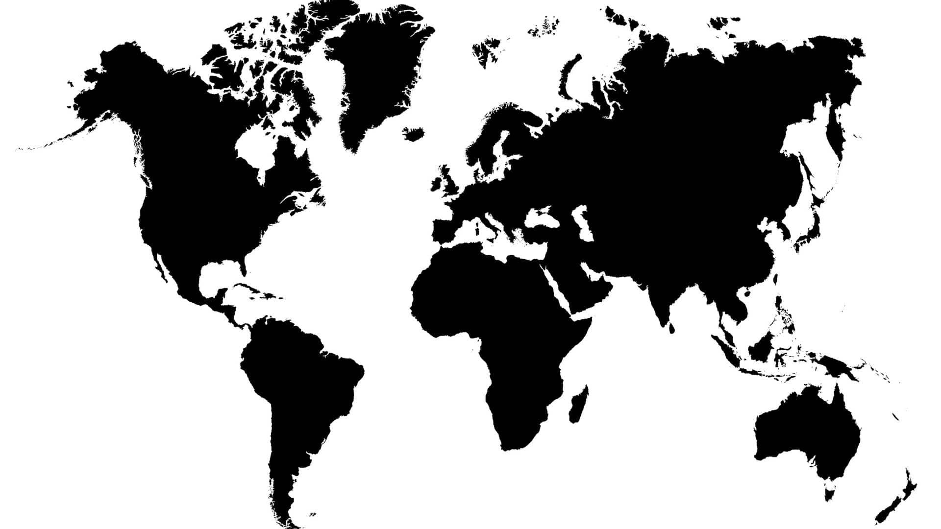 map world noir