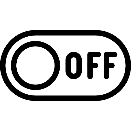 logo bouton off